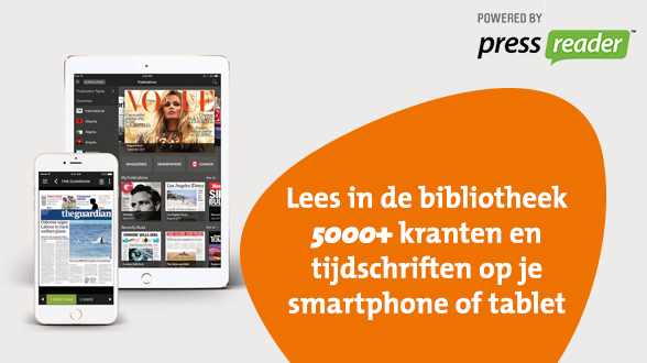 PressReader in de bibliotheek